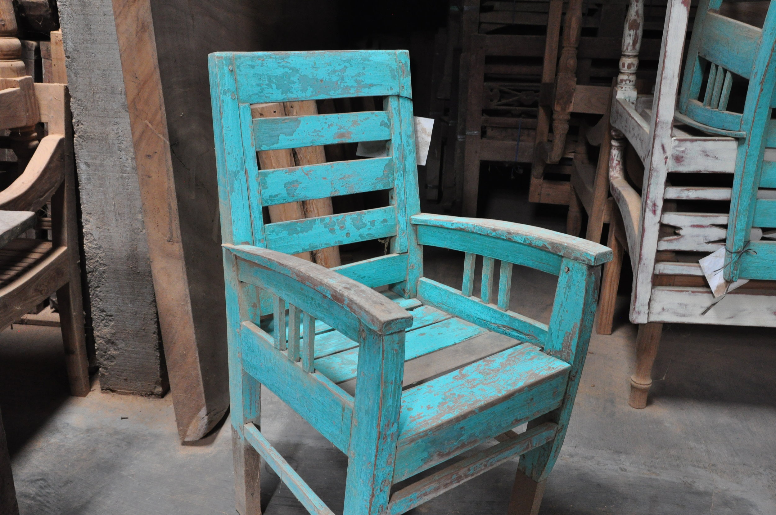 Javanese Chair  Price: $250-$450  Antique, so sizes vary
