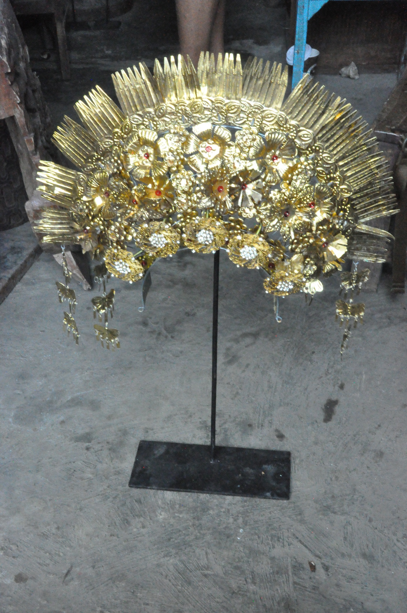Sumatran Bridal Crown  $250