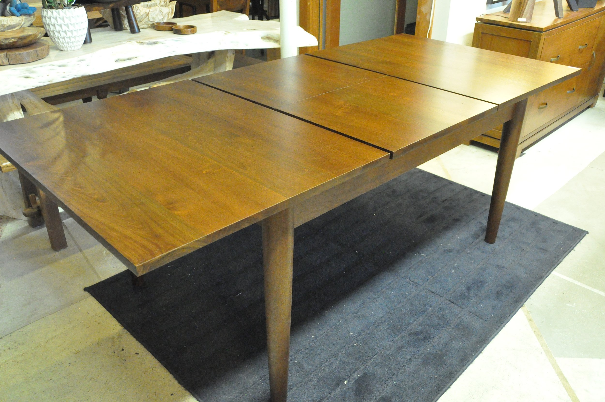 "Rectangular Extending Table  60""-72""W x 38""D x 30""H  $1,500"