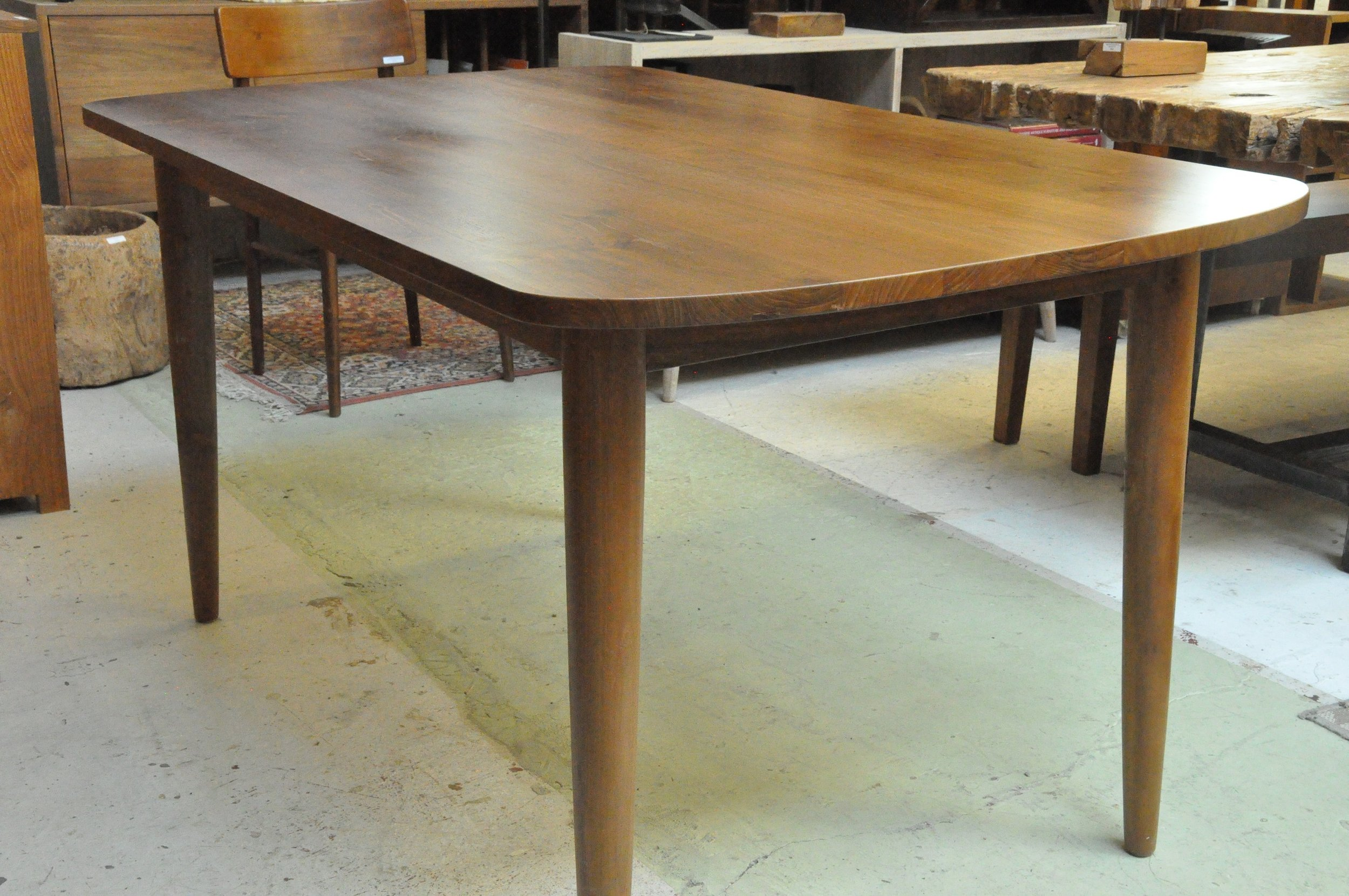 "Lancip Oval Table  $996, 60""L x 36""W x 30""H  $1,150, 72""L x 36""W x 30""H"