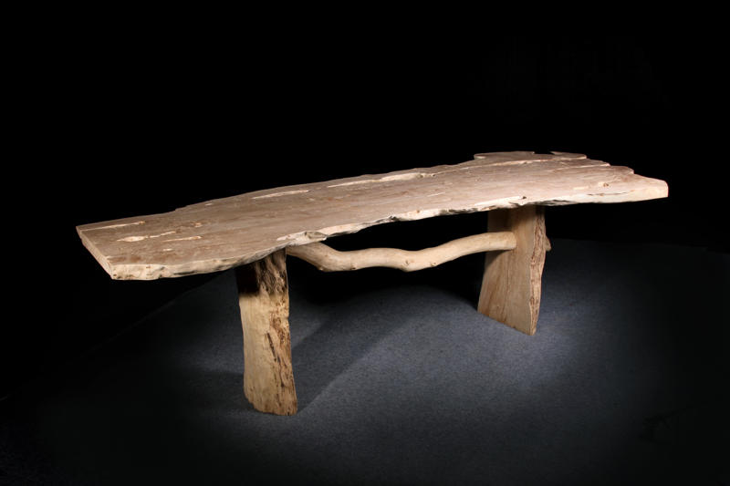 "Lychee Table (Examples of prices and sizes)  $1,695 - $5,675  71""L x 28""D - 99""L x 40""D x 31""H"