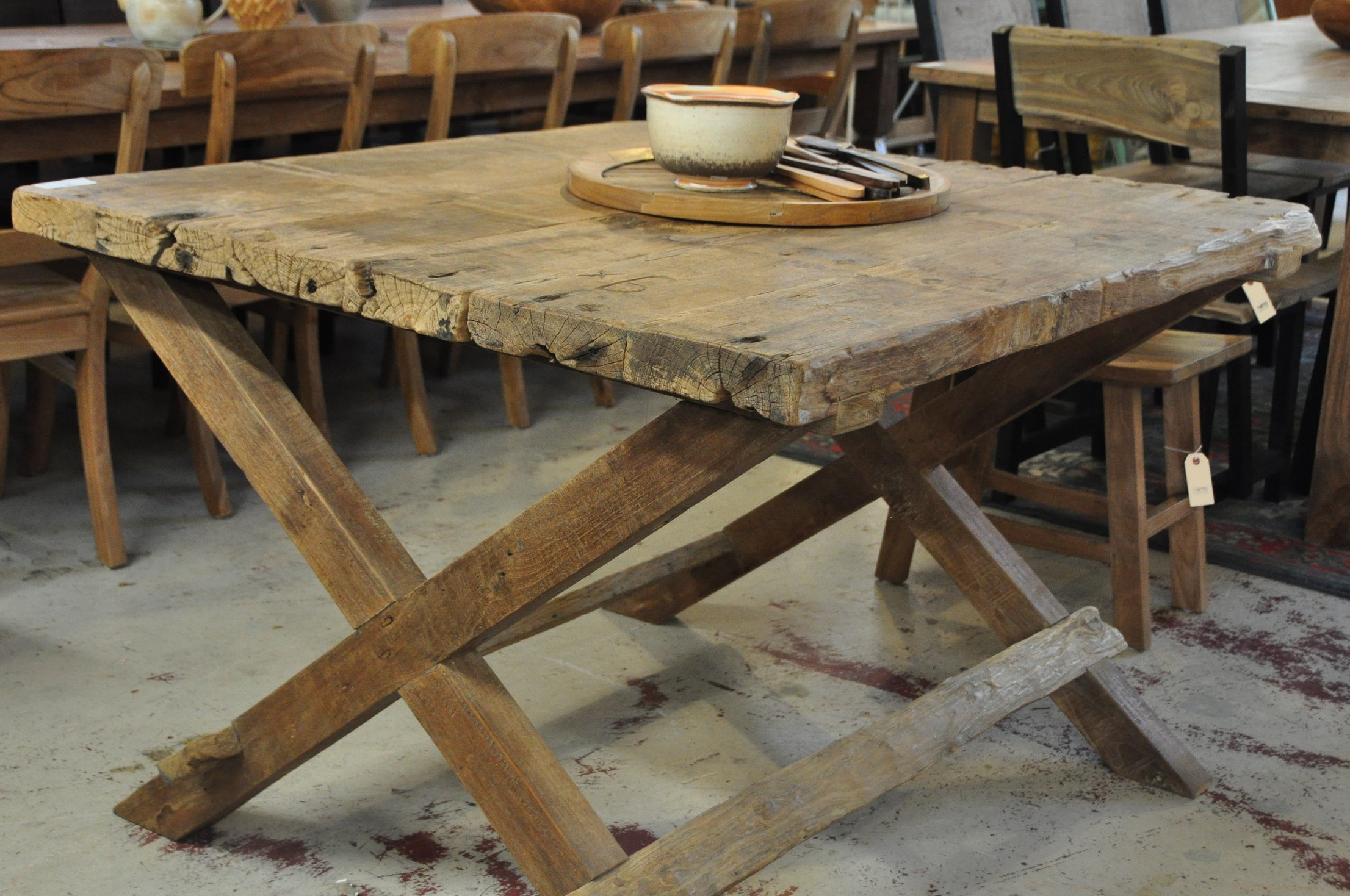 "Piknik Table  Price: $972  45""L x 43""D x 31""H"