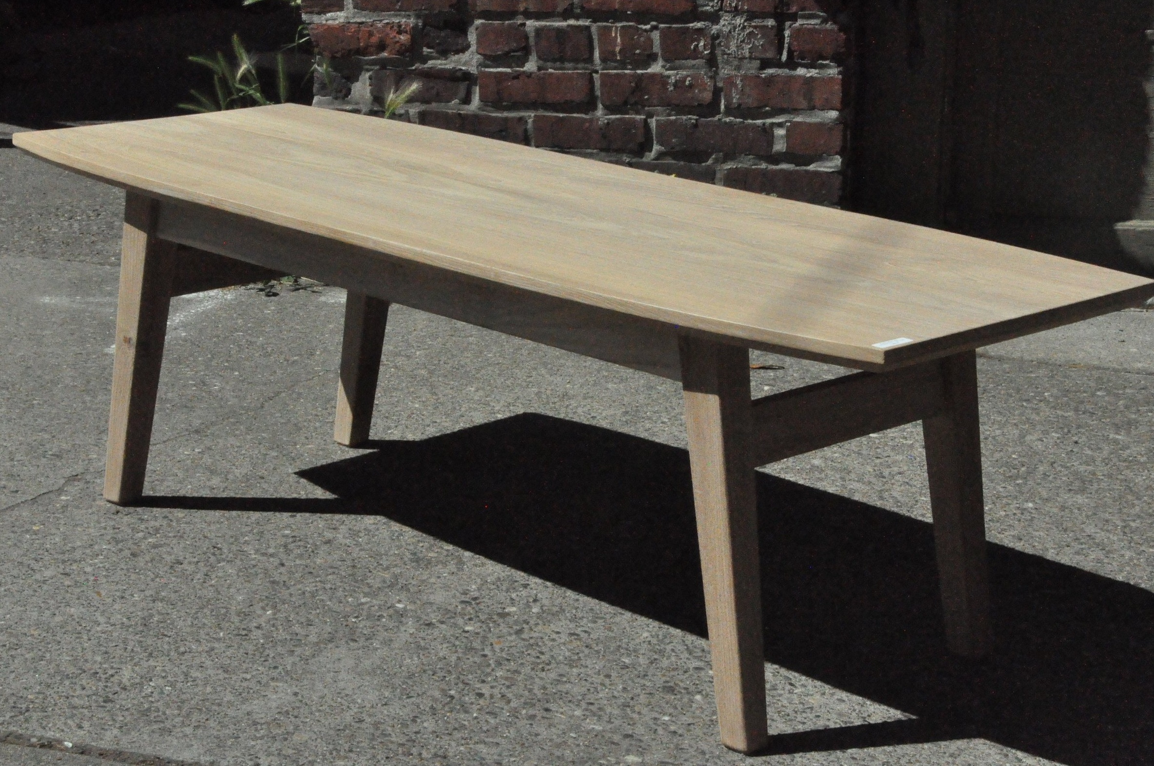 "Klasik Coffee Table  52""W x 20""D x 17""H  Price: $650"