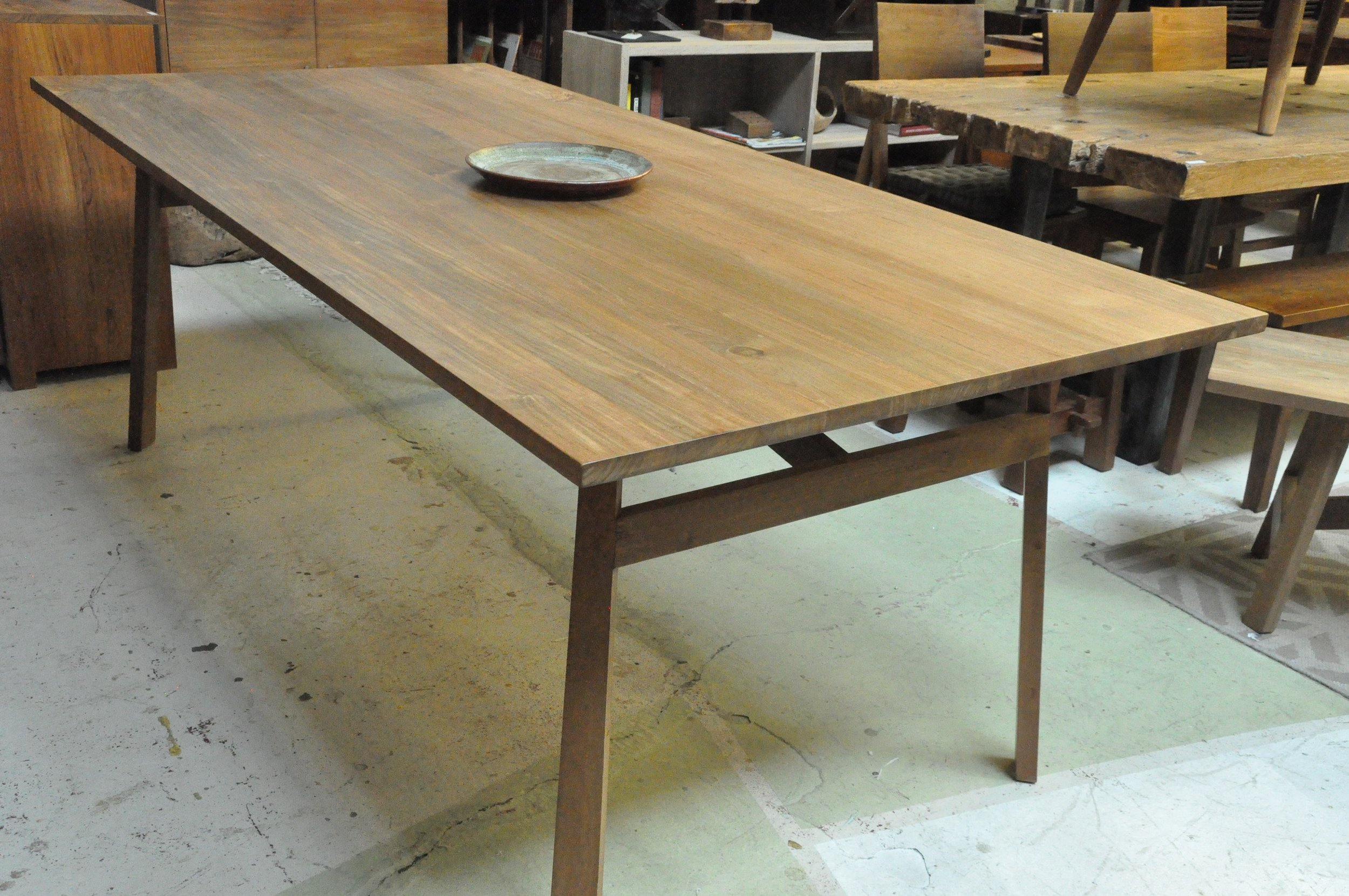 "Siku Dining Table   84""Wx40""Dx30""H  Price: $1,470"