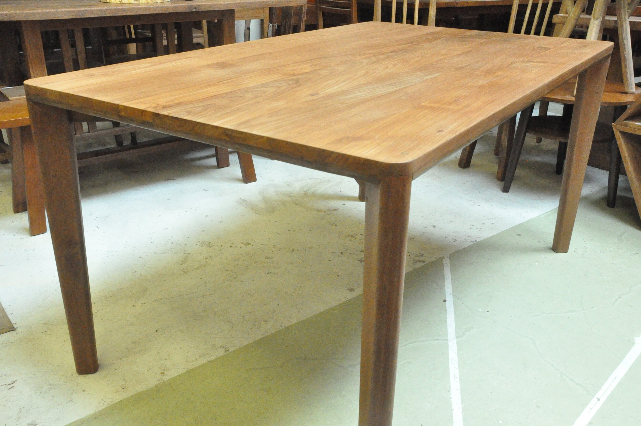 "Pohon Dining Table  60""Wx36""Dx30""H  Price: $1,000   72""Wx37""Dx30""H  Price: $1,250"