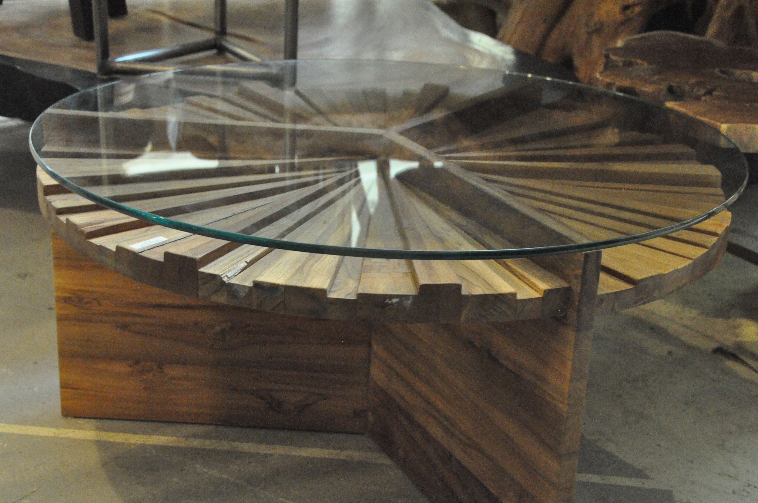 "Kue Round Coffee Table  36""Dx18""H  Price: $915"