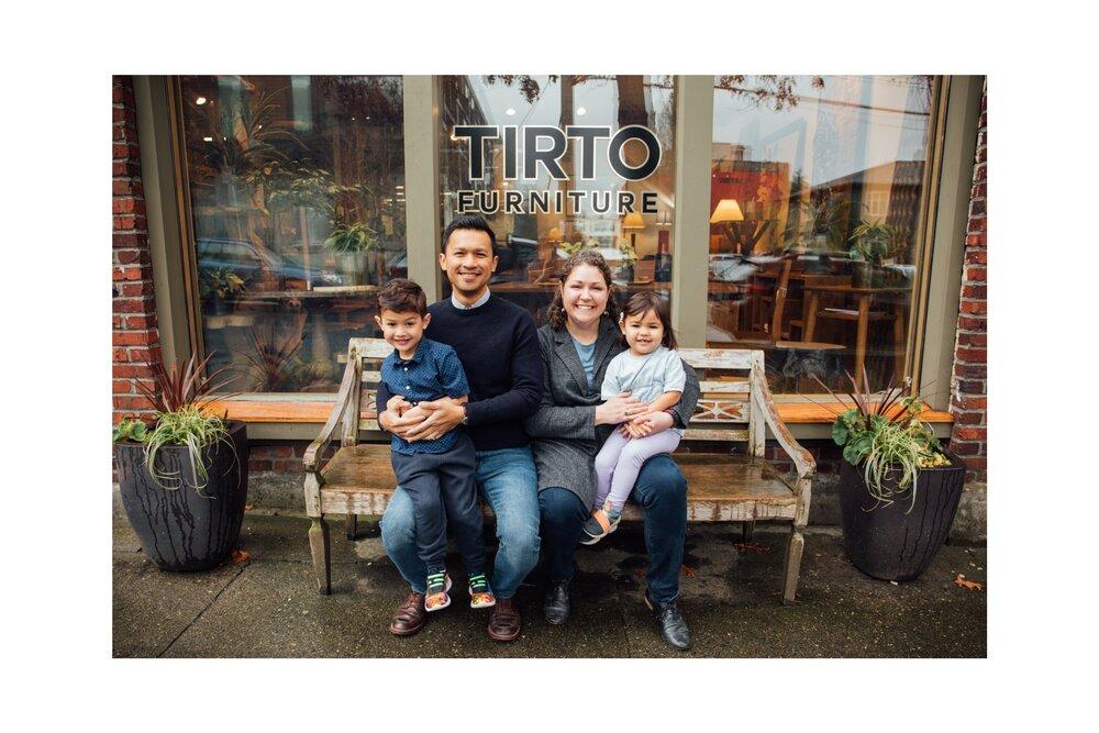 A Local Family Business Tirto Furniture, David Smith Furniture Seattle