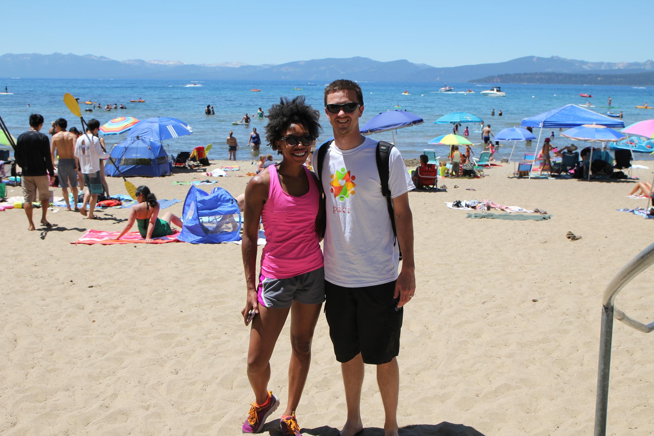 Beach on Lake Tahoe