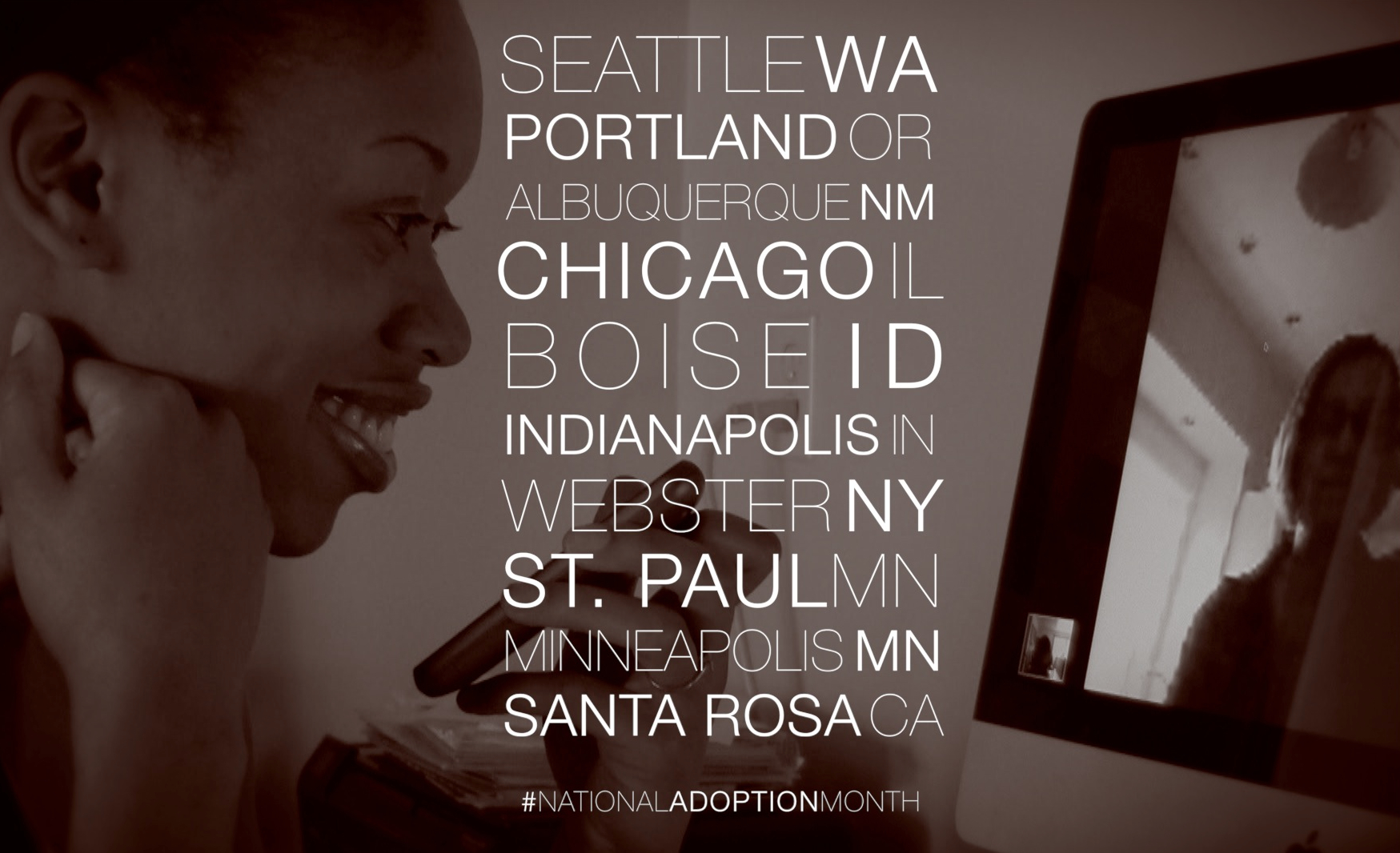 Screenings for November 2013 - National Adoption Month
