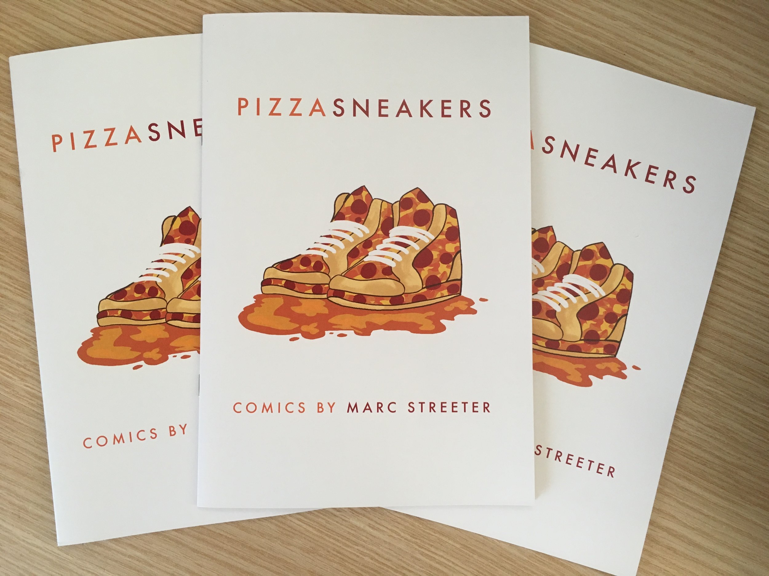 Pizza Sneakers!