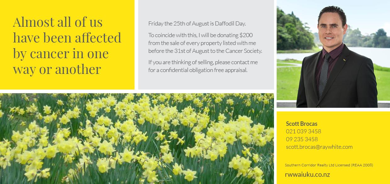 Daffodil Day DLE Back