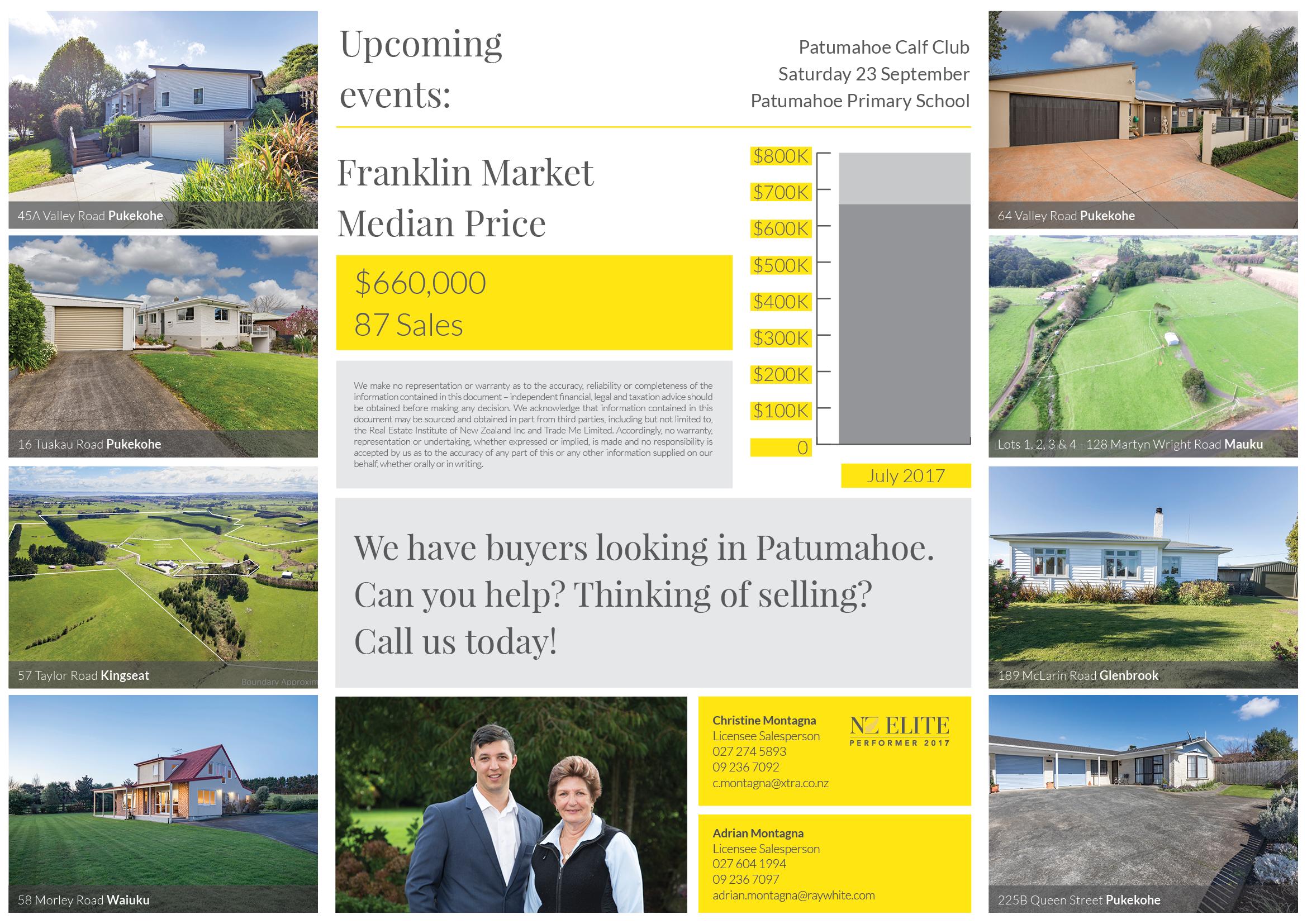 A4 Gatefold Community Newsletter Inside
