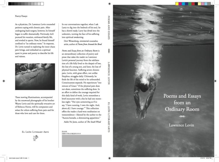 The cover spread of a book I produced for  El León Literary Arts , of Berkeley, California.