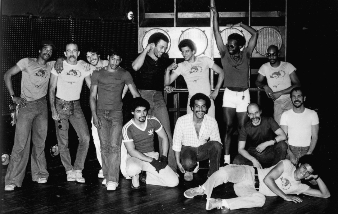 The Paradise Garage team. Photograph by Peter Hujar. Courtesy, the Vince Aletti Collection