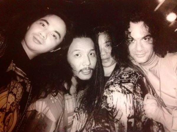 Tomohisa, Dr.Tommy Kawano and Mark Kamins far right.