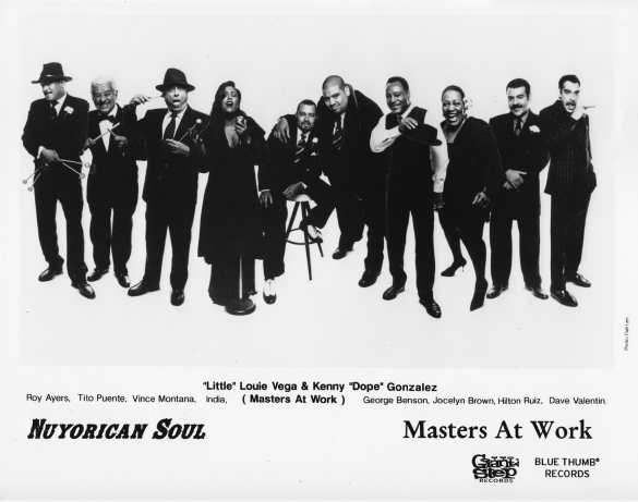 "Figure 3: Nuyorican Soul led by ""Little"" Louie Vega and Kenny ""Dope"" Gonzalez"