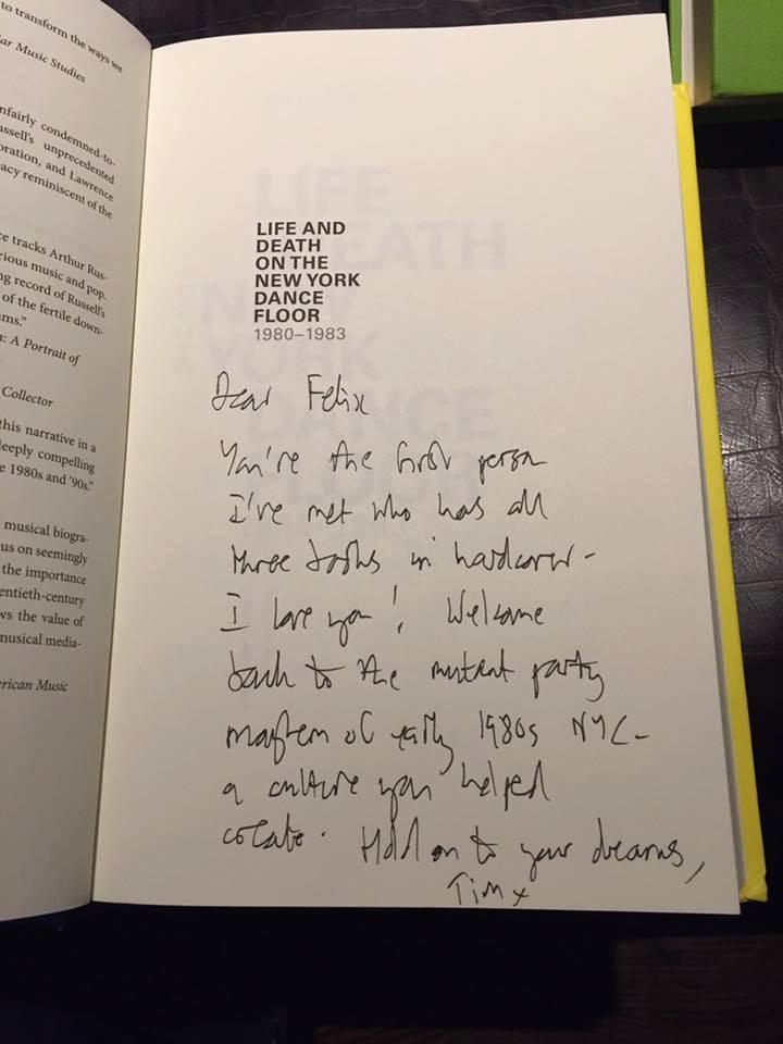 My inscription in Felix Mora Jr.'s new book..jpg
