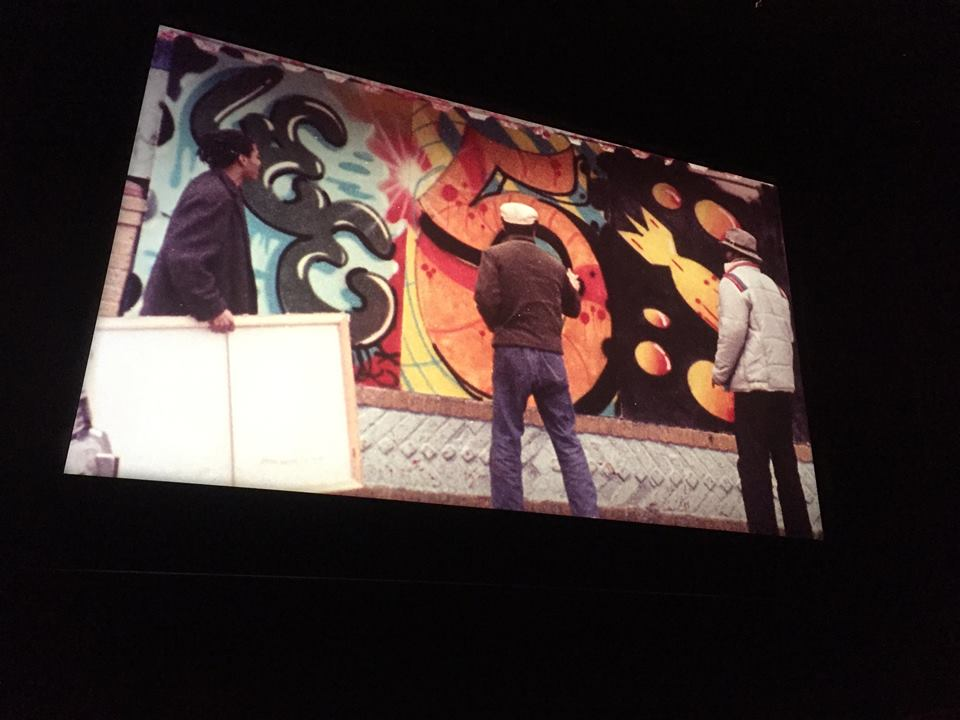 Downtown 81 L>R- Jean-Michael Basquiat, Lee Quinones, Fred Brathwaite:Fab 5 Freddy..jpg