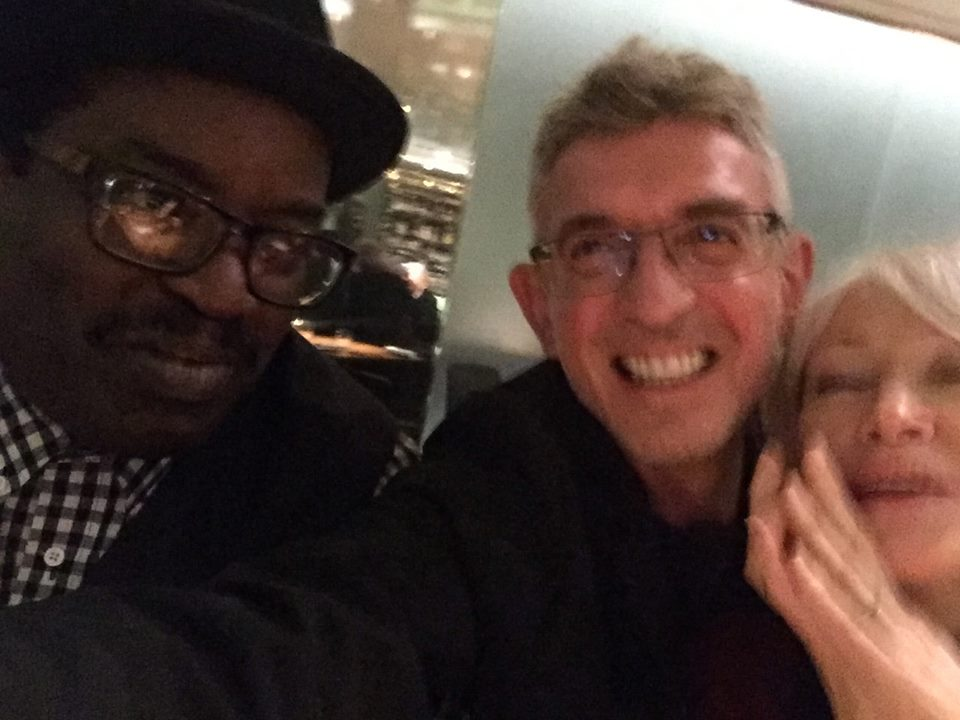 Fred Brathwaite:Fab 5 Freddy, me and Ann Magnuson in the MoMA bar after the launch. .jpg