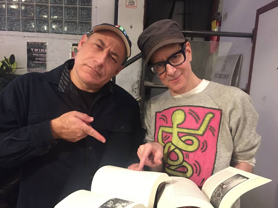 Two DJs from the period covered in Life and Death on the NY Dance Floor--Ivan Baker and Justin Strauss--scrutinise the book's argument until they find a... a what? .jpg