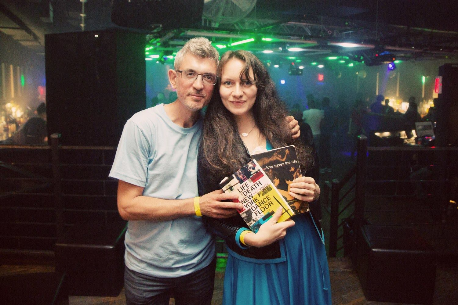 Yuliya Skya and me with two books...at Better Days.jpg