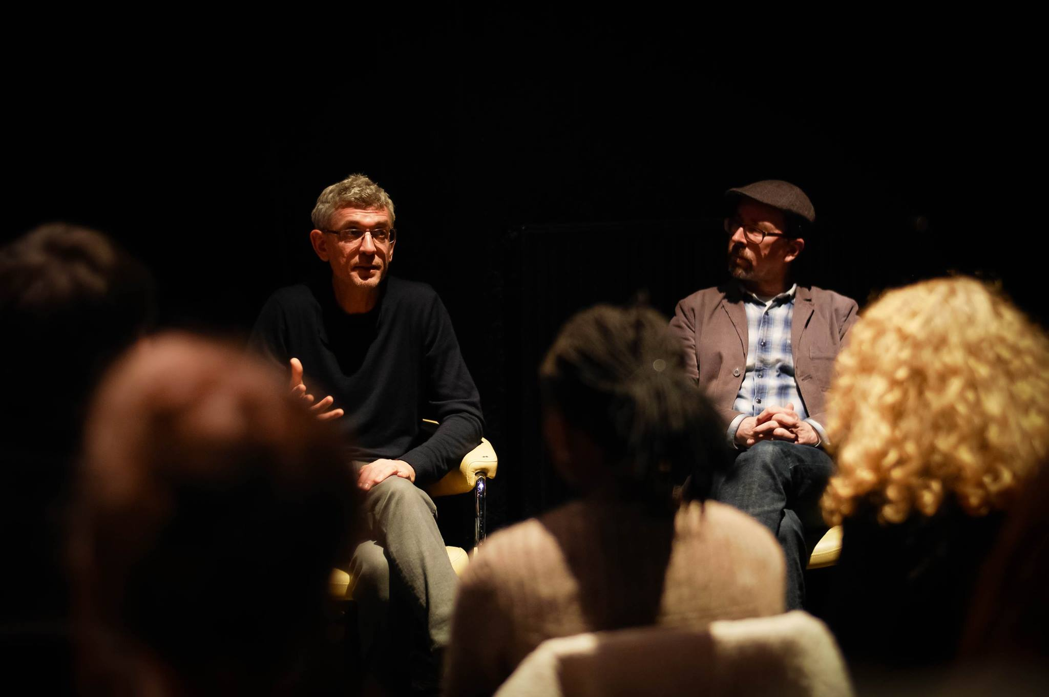Talking at Bochum with Hans and his crowd of young cool kids Photo- Arno Kröger.jpg