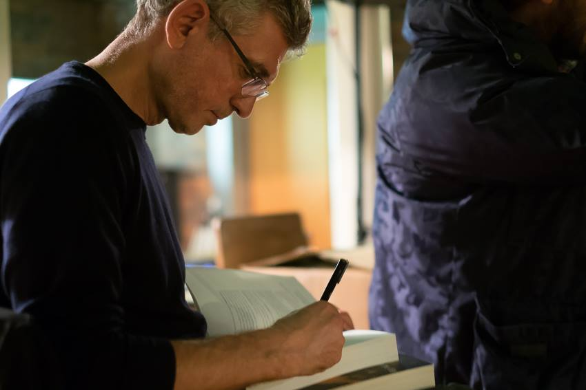 Signing at the Baltic Social in Liverpool. Photo by Martin Noakes..jpg