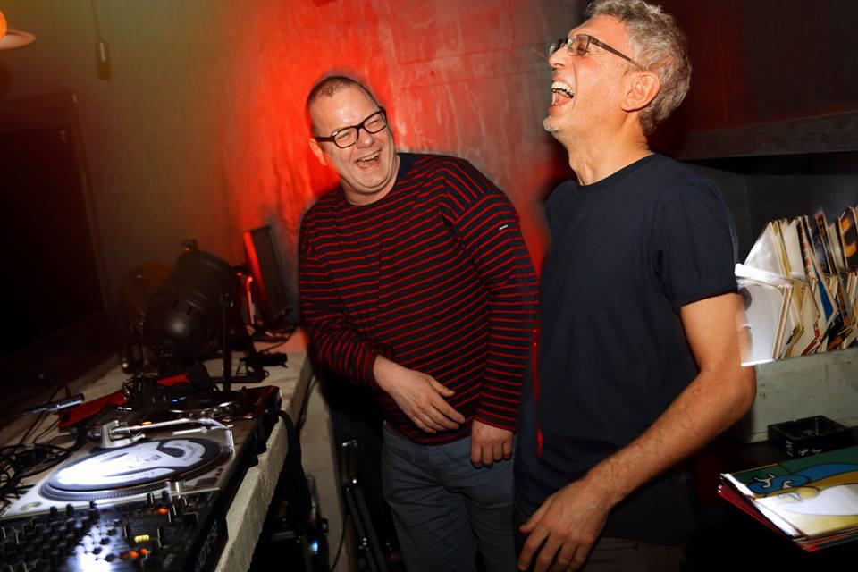 Finn Johannsen and I, we had a good laugh. Photo: Katja Ruge