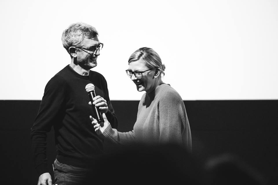 Kotryna Lingienė hands over in Vilnius... Photo by Tautvydas Stukas.