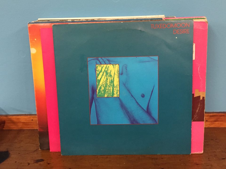 """Some of the records I picked out in Dublin. I'm pretty heavily into Tuxedomoon's """"Desire"""" right now..."""
