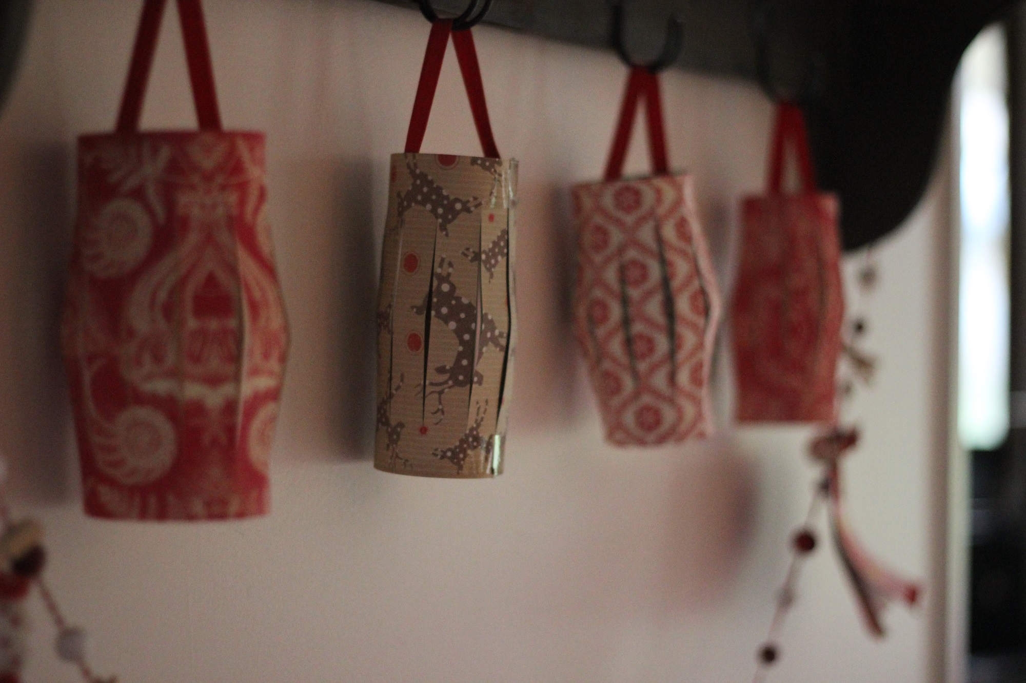 handmade Christmas lanterns