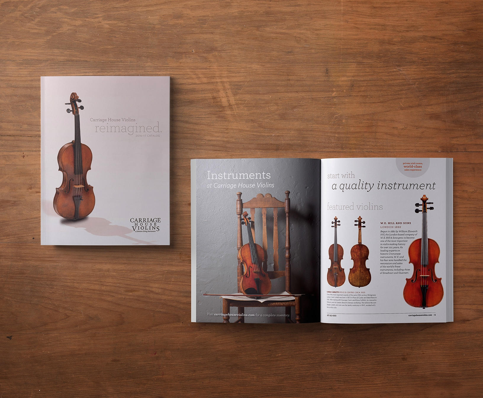 Carriage House Violins Look Book