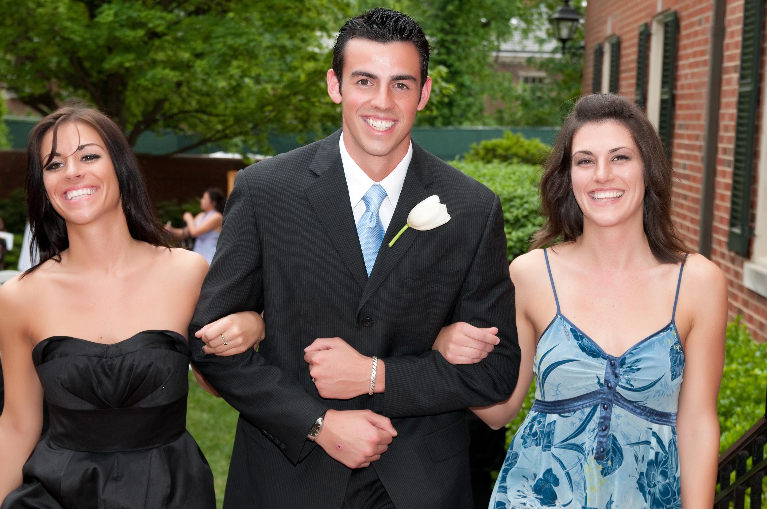 Best man and Brides maids