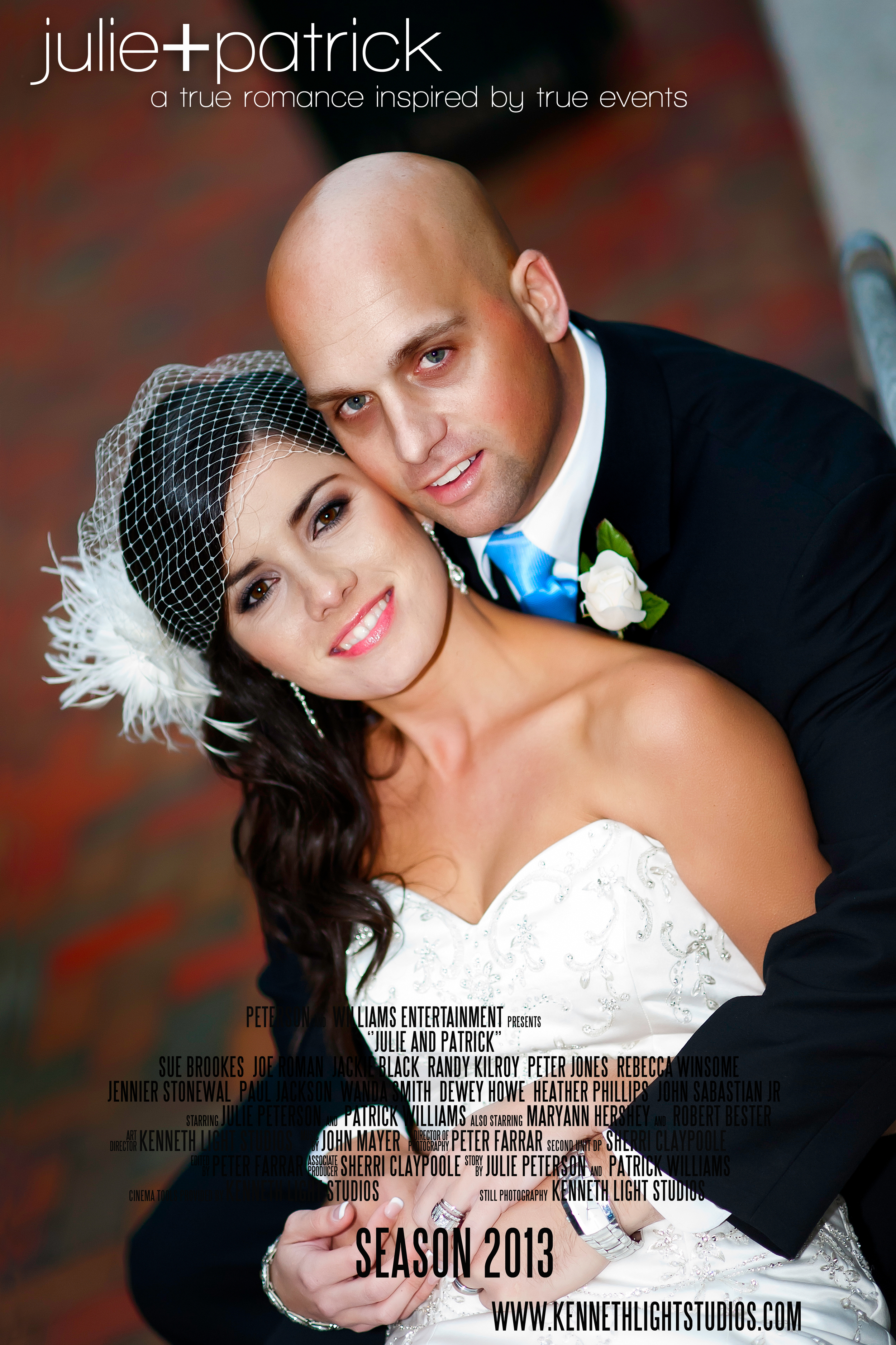 Movie Poster Uptown Charlotte with Basingstoke Wedding Photographers