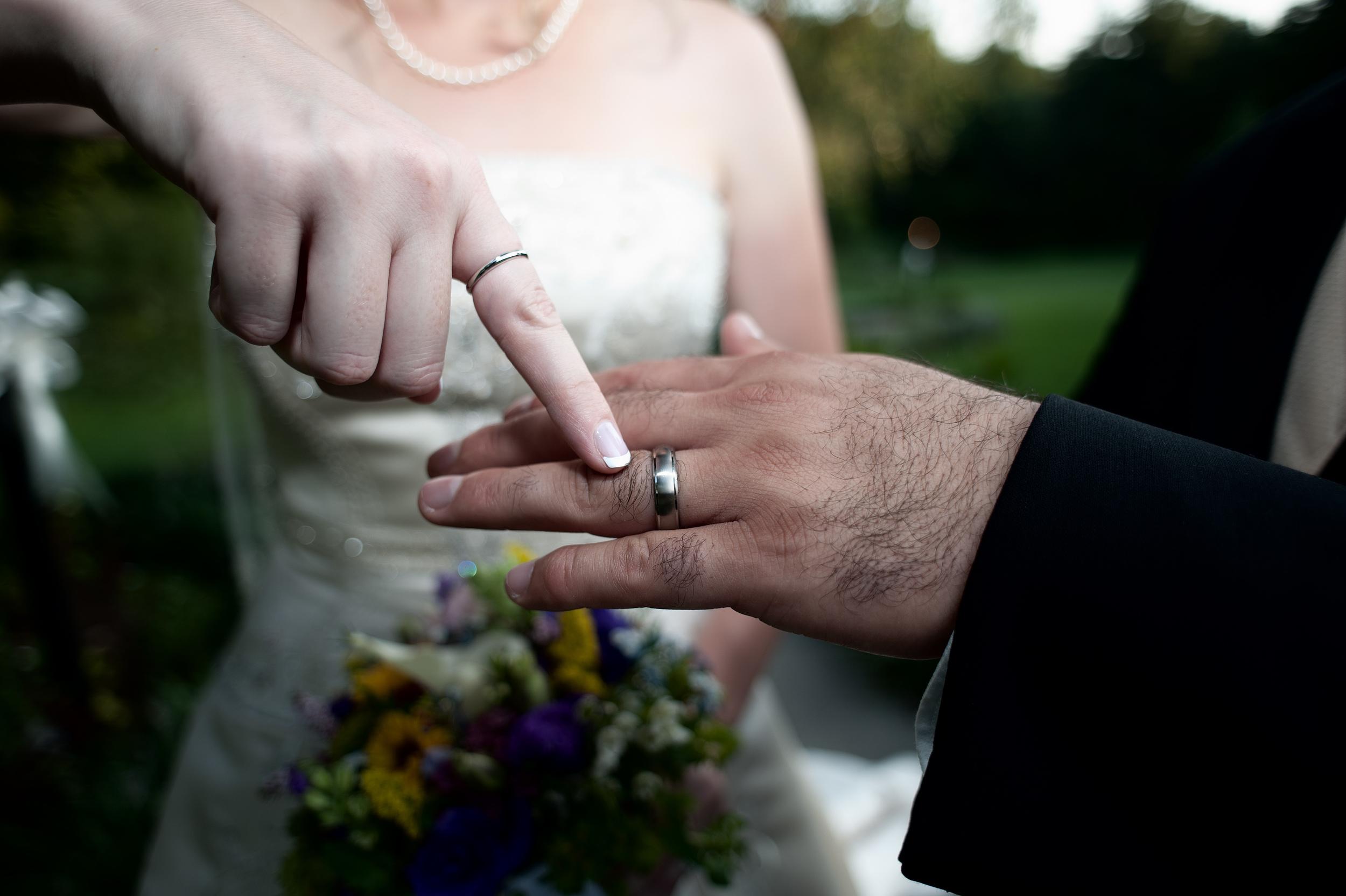 Jewish Wedding Rings.