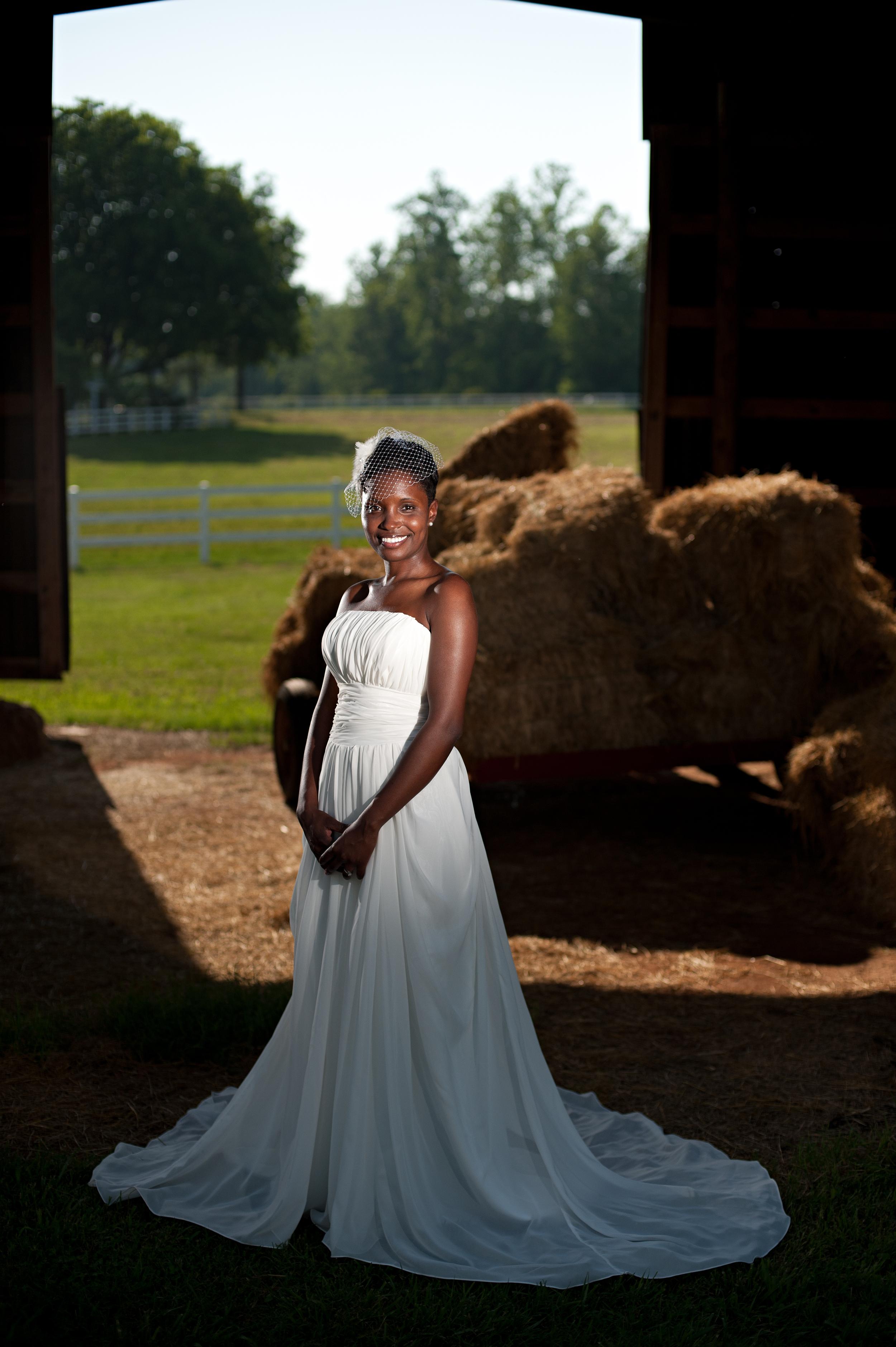 Bridal at the Peacock Inn in Newton, North Carolina USA