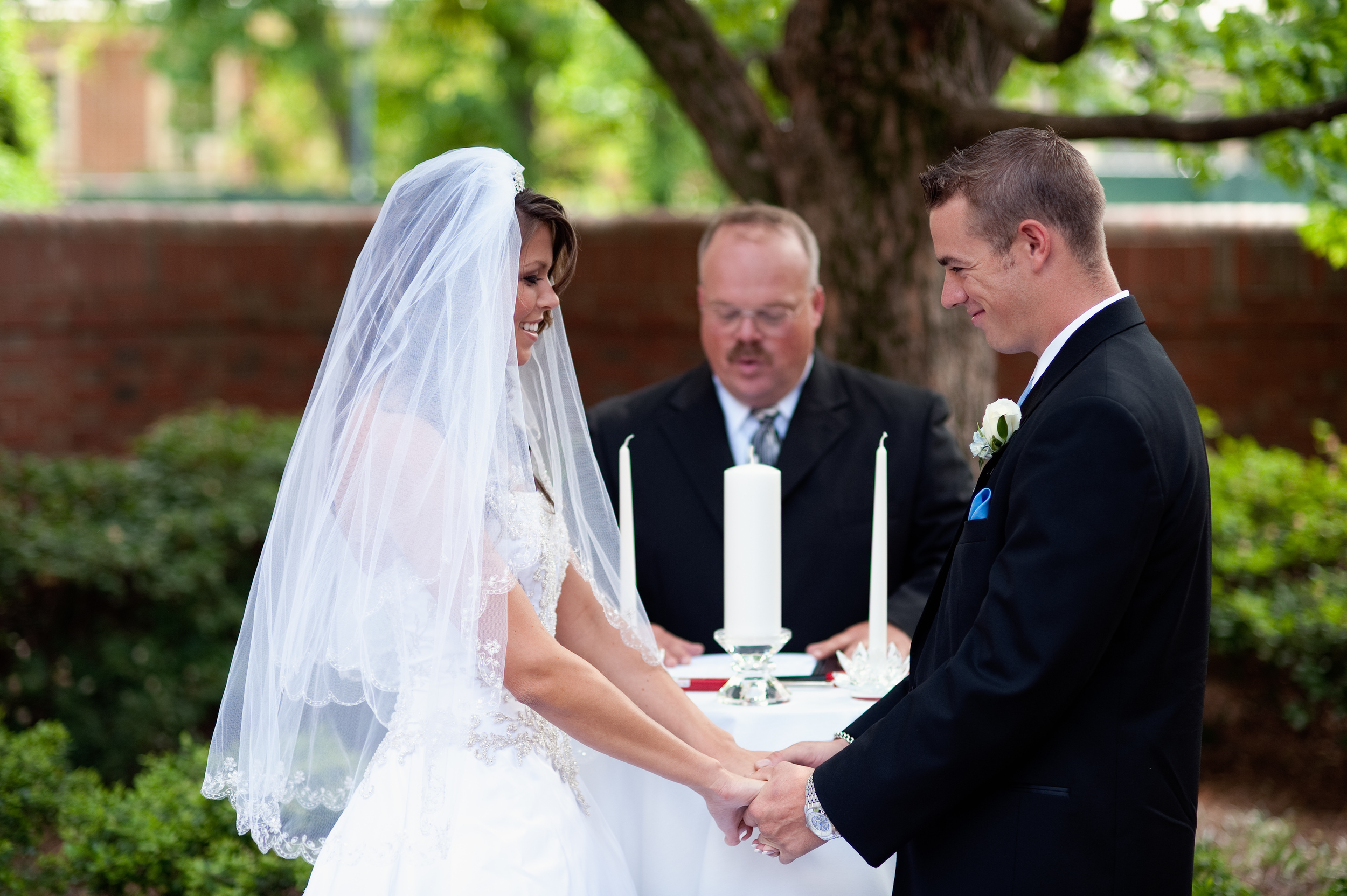 Bride and Groom Wedding Vows