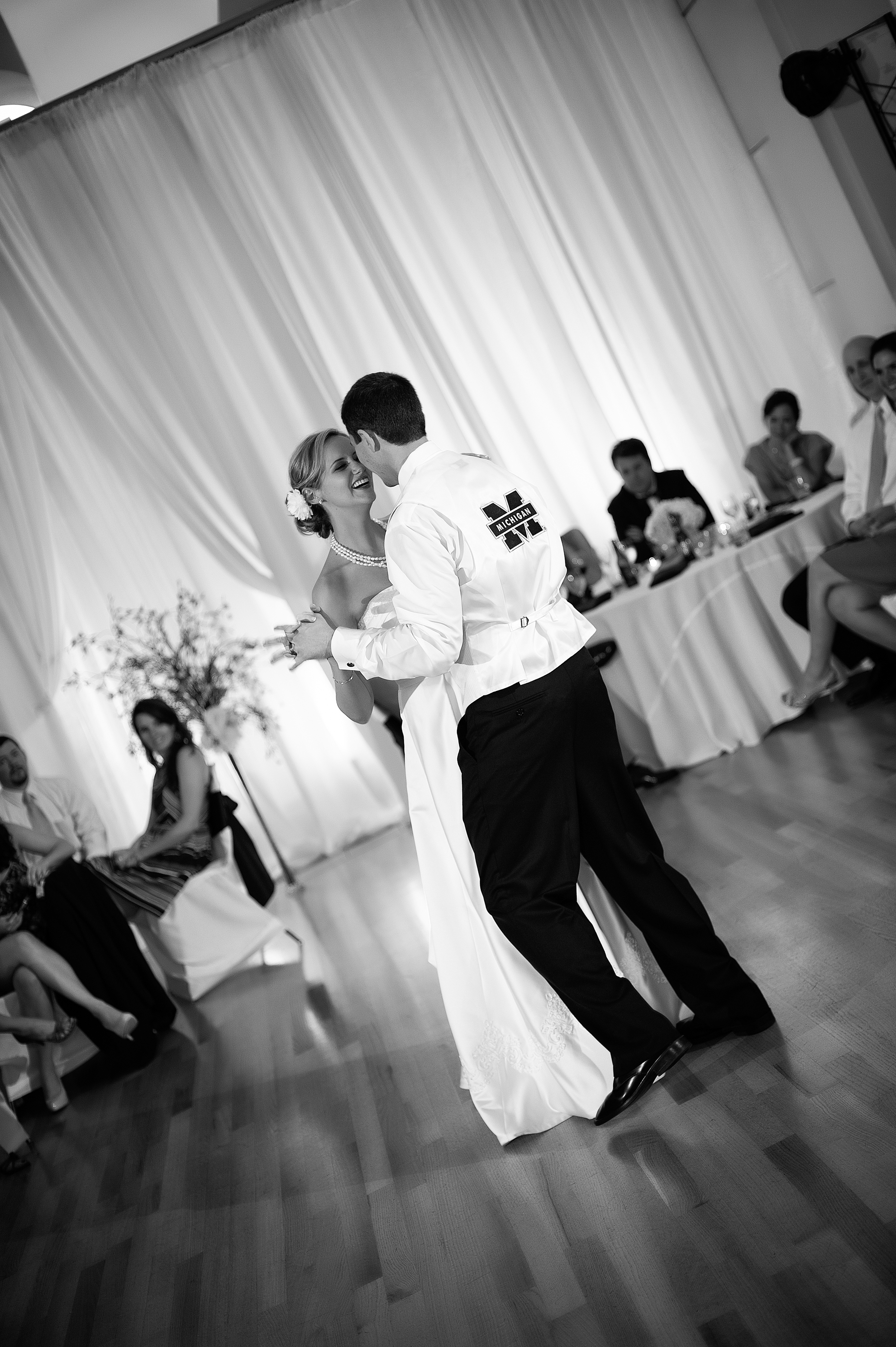 First Dance for University of Michigan Fan and good friend