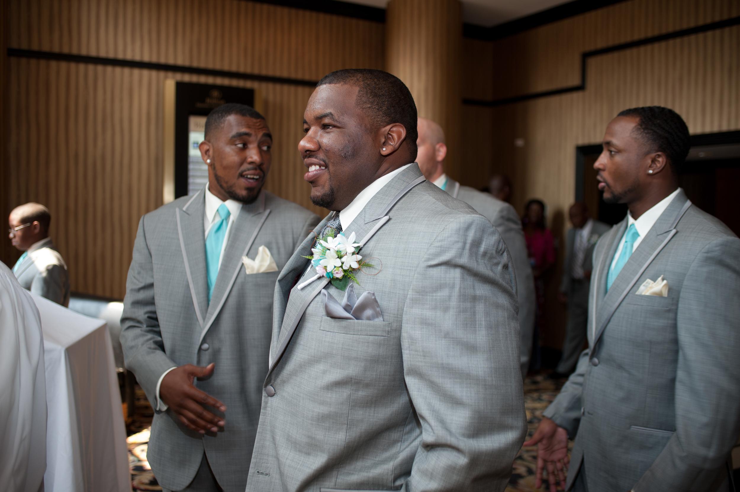 Wedding Day UNCC Hilton, Kenneth Light Studios