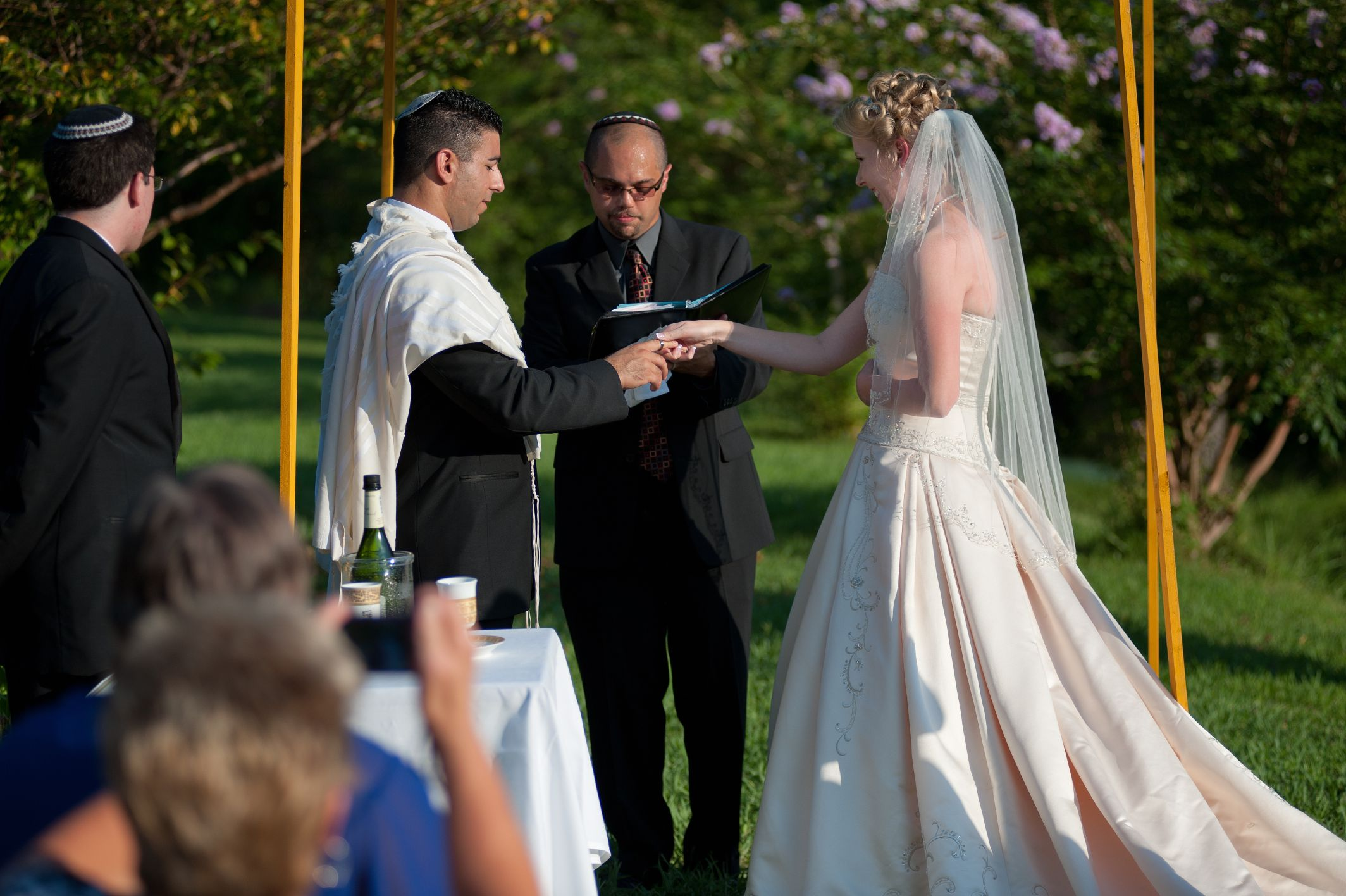 Jewish Wedding day