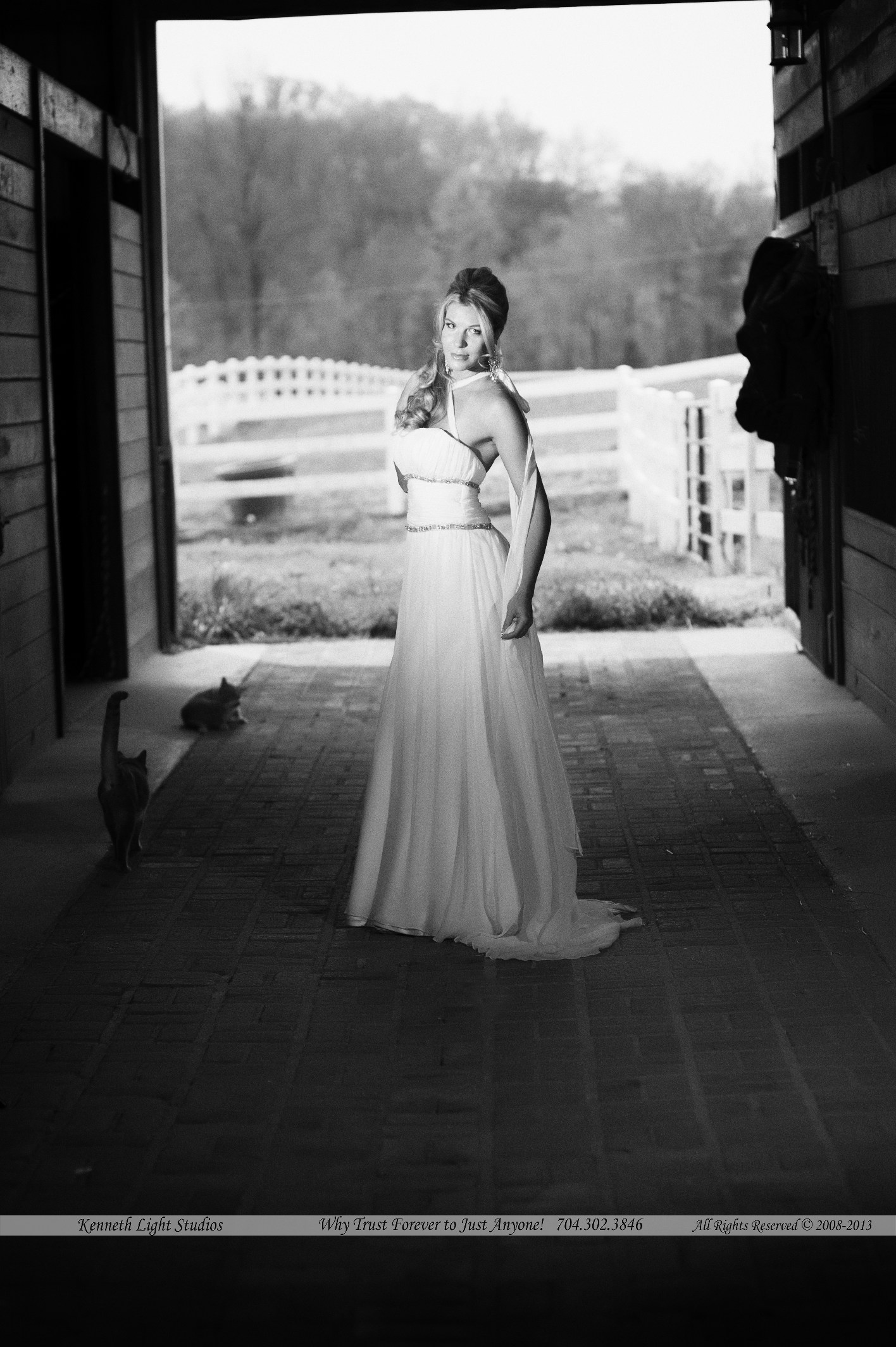 Kenneth Light Studios, Peacock Inn in Newton NC
