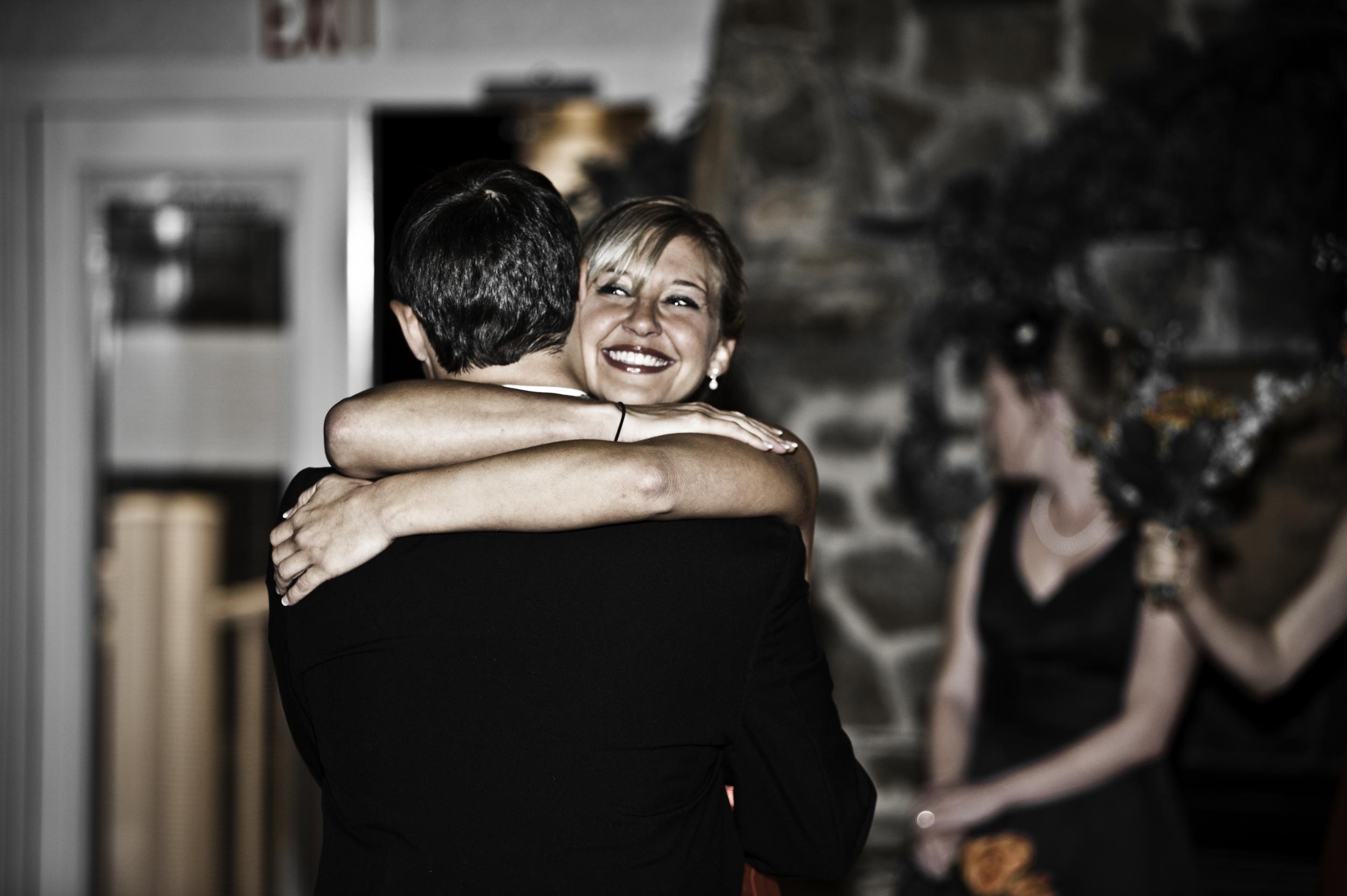 Groom and Sister by Basingstoke Wedding Photographers, Kenneth Light Studios