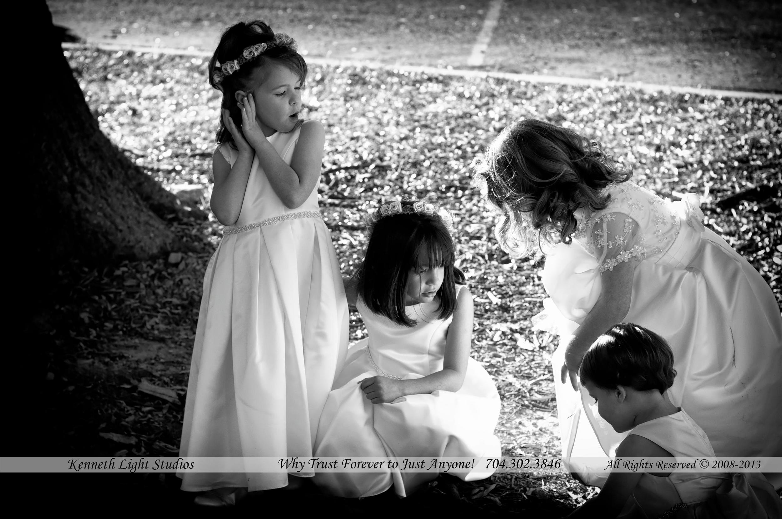 Wedding Photographs Explained, Kids at play by Kenneth Light Studios