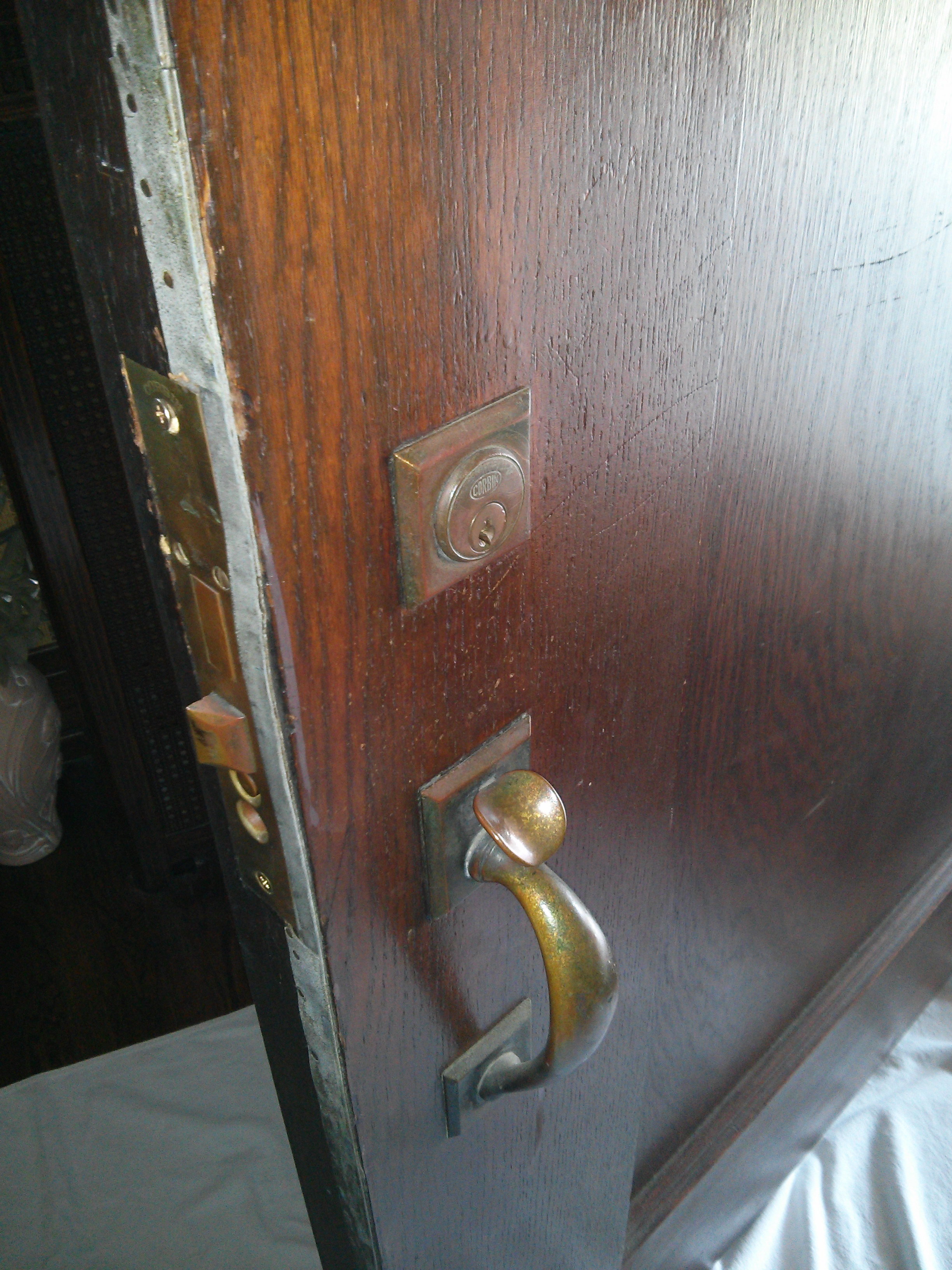 Replace Old Mortise Lock On Front Door