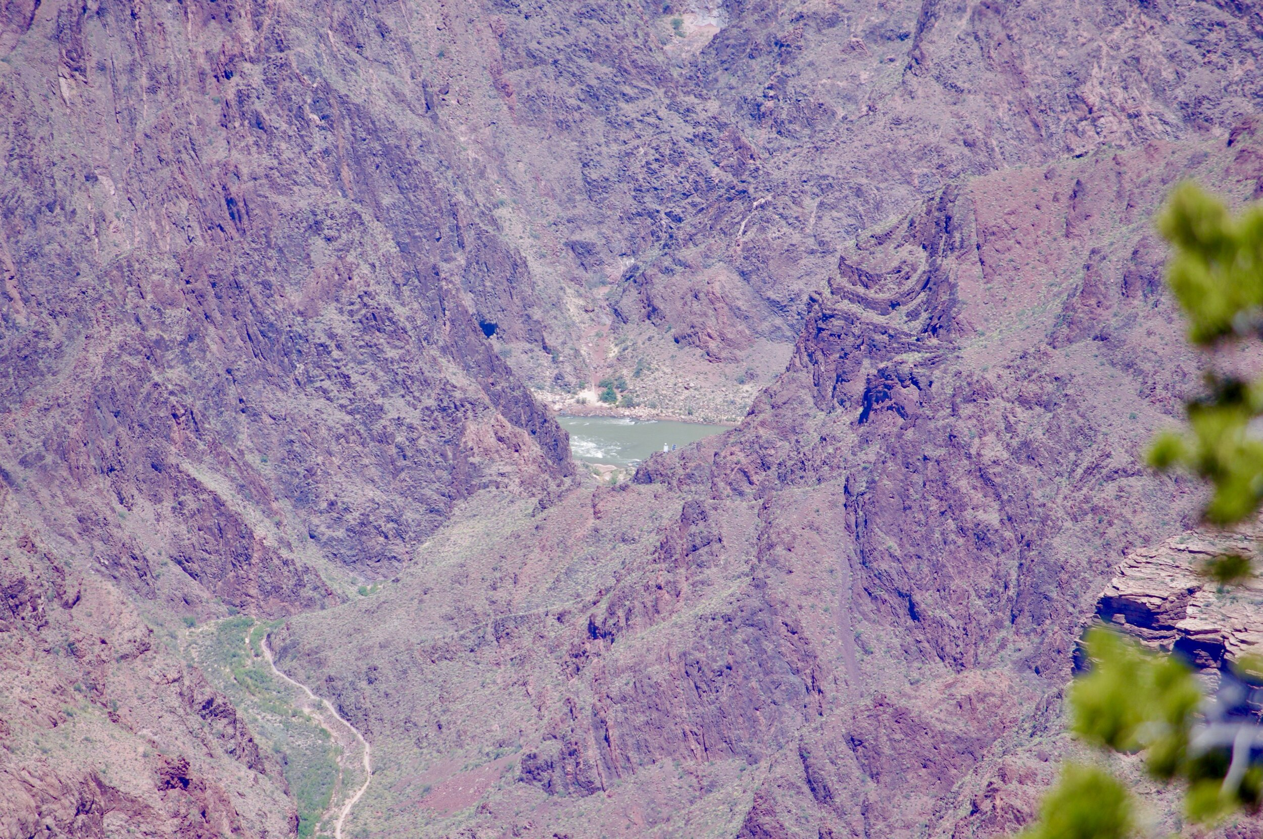 Here is the Mighty Colorado flowing through the Grand Canyon.