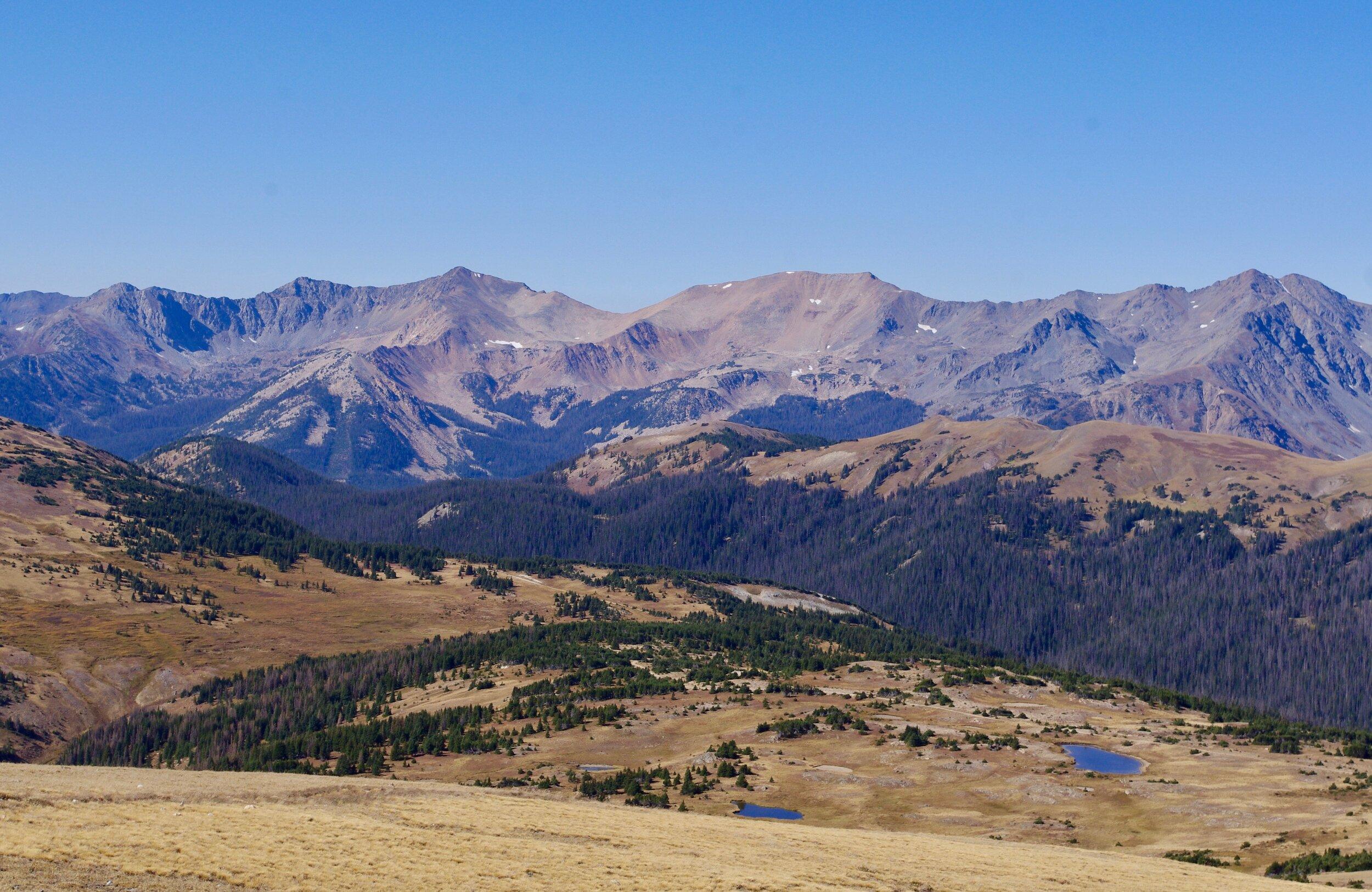 View across the tundra near 12K feet