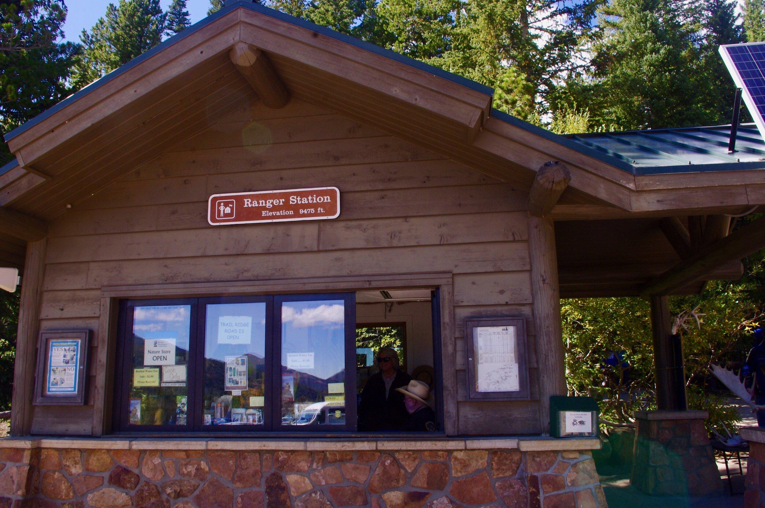 Bear Lake elevation 9475 ft.