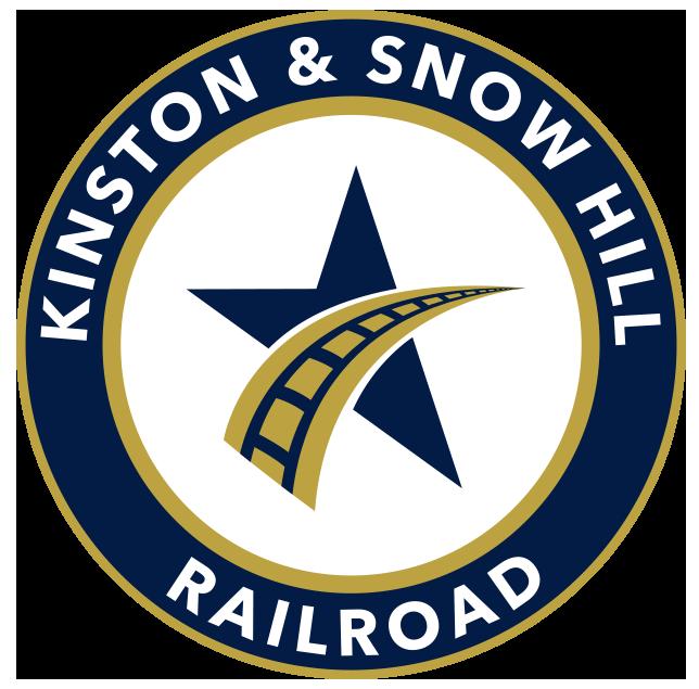 The Kinston & Snow Hill Railroad logo.