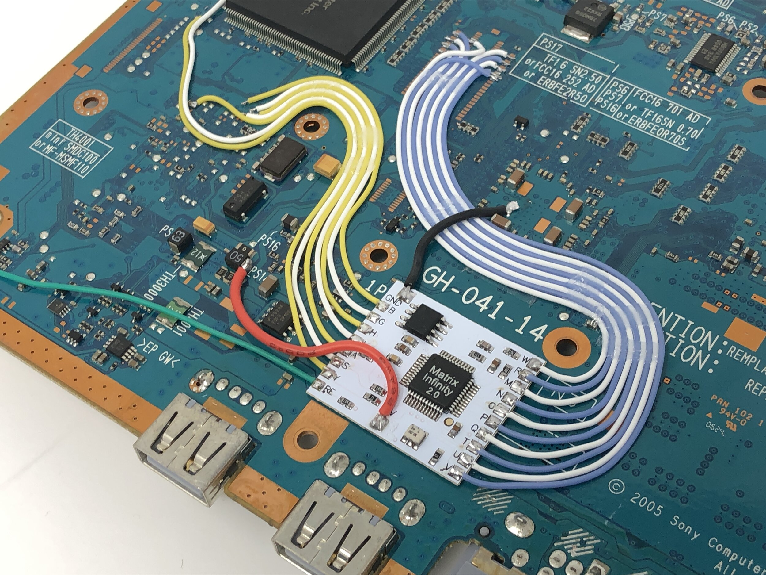 Ps2 mod chip reset