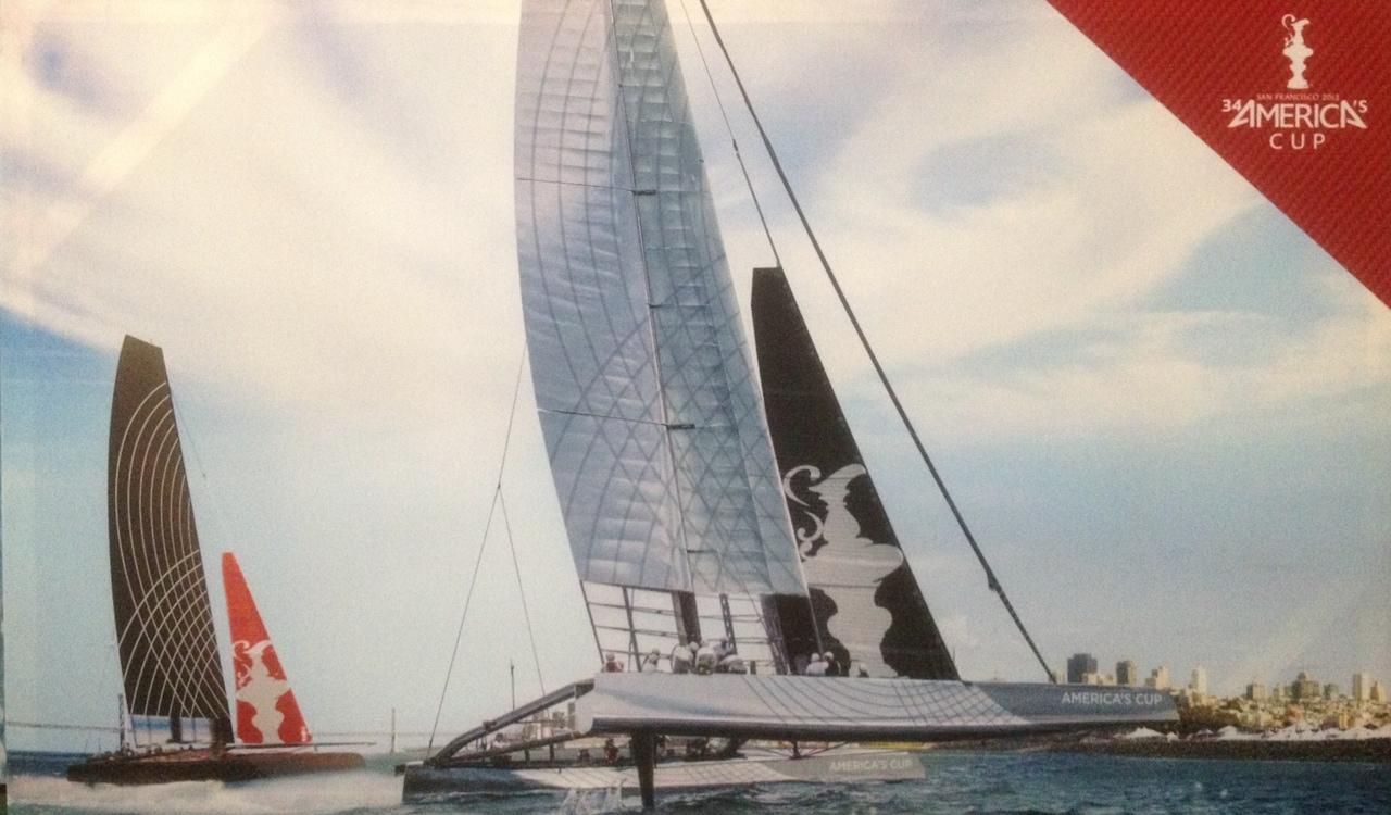 Bay Bridge Hull Flying (Starboard) (3 foot x 5 foot)  $500